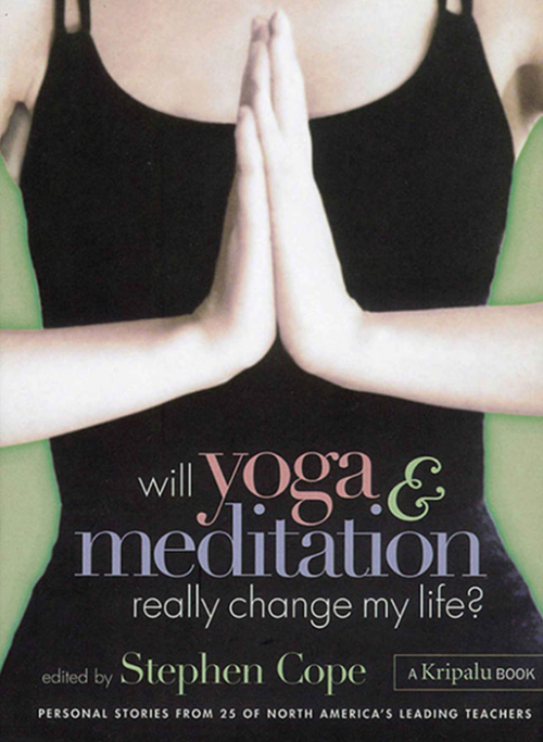 Will Yoga & Meditation Really Change My Life?: Personal Stories from 25 of North America's Leading Teachers; A Kripalu Book by Stephen Cope